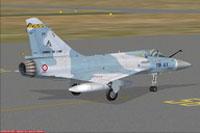 Screenshot of CEAM Mirage on runway.