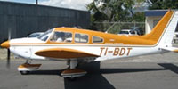 Image showing CPEA Flight School Piper Archer TI-BDT on the ground.