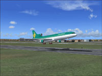 Screenshot of Caledonia Airways Lockheed L1011-500 taking off.