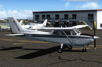 Screenshot of Cessna 172 C-GQCU in the ground.