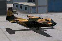 Screenshot of Casa C-212 72-095 Camo on the ground.