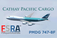 Screenshot of Cathay Pacific Cargo Boeing 747-8F.