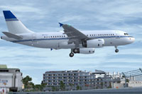 Screenshot of Cayman Islands Government Airbus A319-115X CJ taking off.