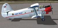 Screenshot of Cayo Largo Antonov An-2 on the ground.