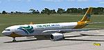 Screenshot of Cebu Pacific Airbus A330-300 on runway.