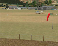 Screenshot of Centennial Park Airfield scenery.