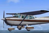 Screenshot of Cessna 172N N65587 in flight.