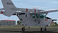 Screenshot of Cessna 337 BAT-21 on the ground.