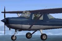 Screenshot of Cessna C152II N2270J in flight.