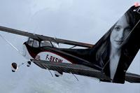 Screenshot of Cessna C172 F-BKSW in flight.