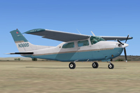 Screenshot of Cessna CT210M Centurion II N388S on the ground.