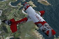 Screenshot of Cessna Skylane C182 RG II Marilyn Monroe in flight.