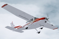 Screenshot of Cessna T182 N14306 in flight.
