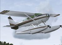 Screenshot of Cessna U206G Stationair 6 II Float.