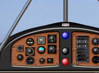 Screenshot of Beech 17 Staggerwing panel.