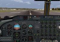 Screenshot of De Havilland Dash 7 panel.