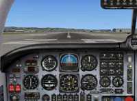 Screenshot of Default Mooney Bravo panel.