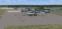 Screenshot of Columbia Metropolitan Airport.