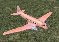 Screenshot of Copper & Brass Douglas DC-3 in flight.