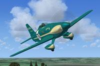 Screenshot of Cosmic Wind Kings Cup Winner in flight.