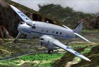 Cunliffe Owen Aircraft Ltd Concordia in flight.