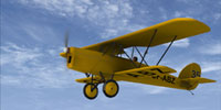 Screenshot of Curtiss Reid Rambler MK.III in flight.