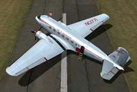 DC-3 Airways Douglas DC-2 on the ground.