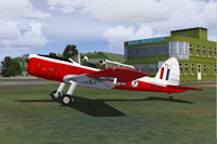 Screenshot of DHC-1 Chipmunk WG469 on the ground.