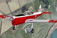 Screenshot of DHC-1 Chipmunk WK640 in flight.