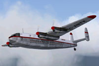 Screenshot of Dan-Air Avro 685 York C1 in flight.