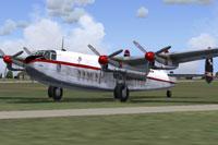 Screenshot of Dan-Air Avro 685 York C1 on the ground.