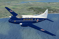 Screenshot of DeHavilland Sea Devon XJ319 in flight.