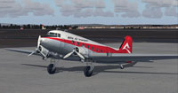 Screenshot of Delta Air Transport Douglas DC-3 on the ground.