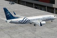 Screenshot of Delta Skyteam Boeing 737-800 on the ground.