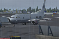 Screenshot of Boeing P-8A Poseidon on the ground.