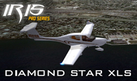 Screenshot of Diamond DA40 N591CA in flight.