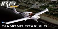 Screenshot of Diamond Star DA40 N589T in the air.