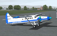 Screenshot of Dolphin Blue Charters DHC3-TTC on the ground.