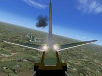 Screenshot of Douglas Boston firing weapons.