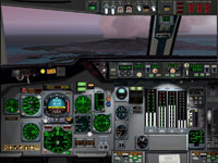Screenshot of Douglas DC-10 panel.