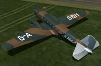 Screenshot of Douglas DC-2 G-AGBH on the ground.