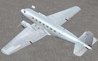 Screenshot of blank Douglas DC-2 on the ground.