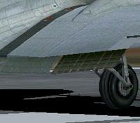 Screenshot of Douglas DC-3 flaps.