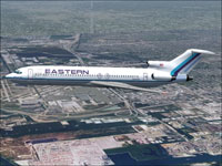 "Screenshot of EAL Boeing 727-100 ""Wings Of Man"" in flight."