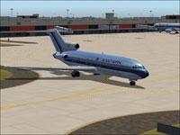 Screenshot of EAL Boeing 727-100 on the ground.