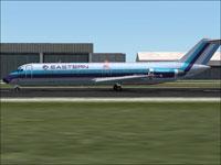 Screenshot of EAL Douglas DC-9-30 on runway.