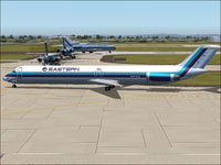 Screenshot of EAL Douglas DC-9-50 on the ground.