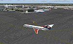 Screenshot of Newcastle International (EGNT) scenery.