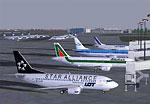 Screenshot of Okecie Airport scenery.