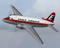 Screenshot of Eagle AW Viking 3B in flight.